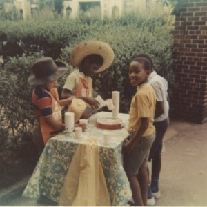 Lemonade and Cookies...and funny hats